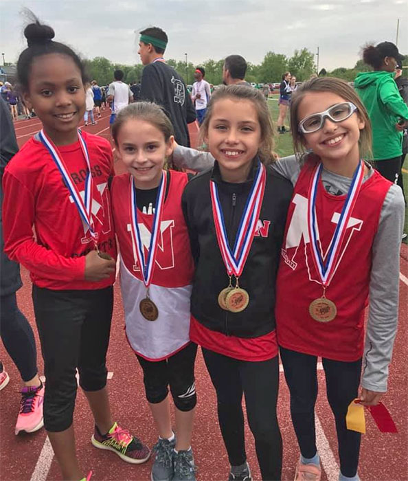 Nativity School Track medalists